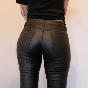 Almost Famous pleather pants